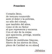 Oración Poema para el Papa Farncisco